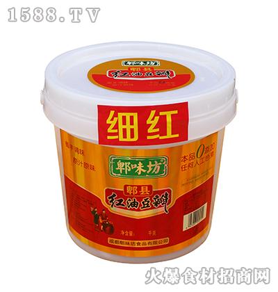 郫味坊郫县红油豆瓣桶装6千克