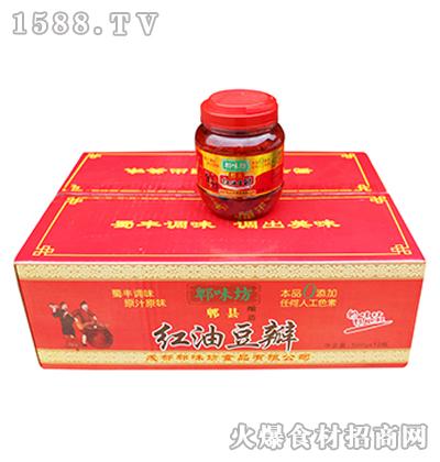 郫味坊郫县红油豆瓣箱装6千克