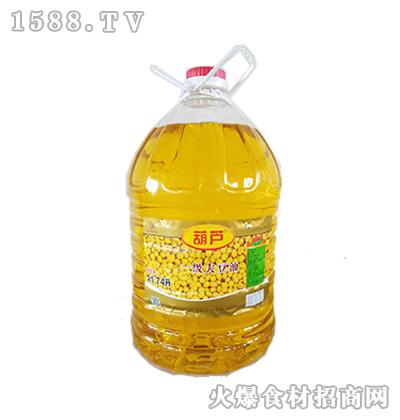 葫芦一级大豆油21.74升