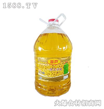 葫芦一级大豆油20升