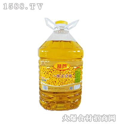 葫芦一级大豆油16.4升