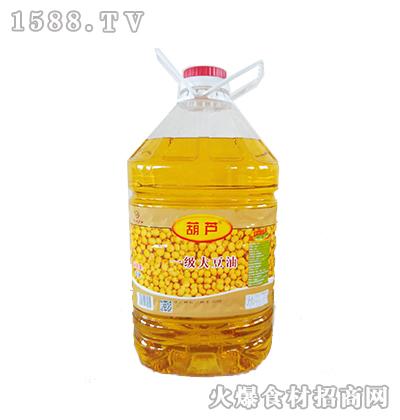 葫芦一级大豆油15升