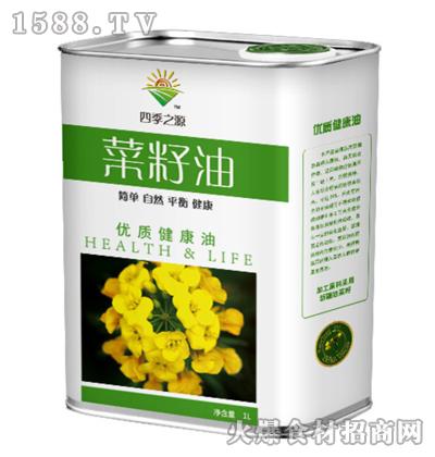 四季之源菜籽油1L