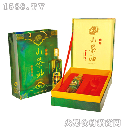 天+生山茶油礼盒