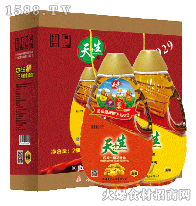 天+生-食用油组合装礼盒2.5Lx2