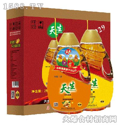 天+生-食用油组合装礼盒1.6Lx2