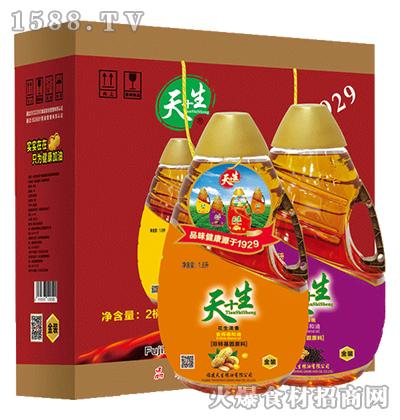 天+生食用油组合装礼盒-1.6Lx2
