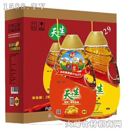 天+生食用油组合装礼盒1.6Lx2