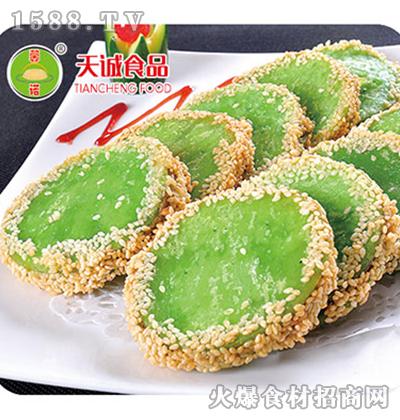 天诚-绿茶佛饼面点