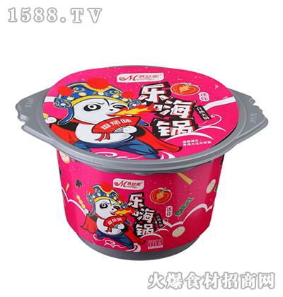 慕丝妮番茄味迷你乐嗨锅自热火锅335克