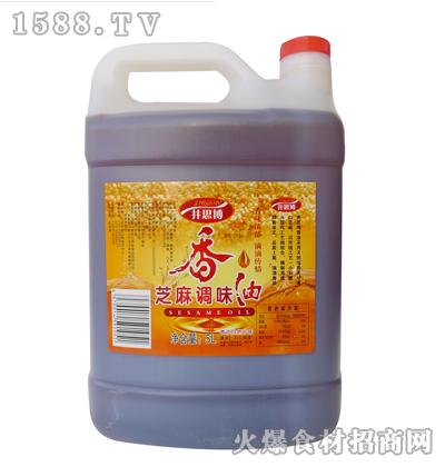 井思博芝麻调味油5L