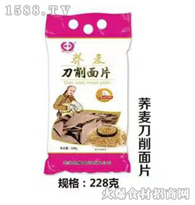 龙腾荞麦刀削面片228g