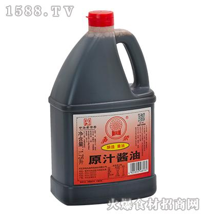 争荣原汁酱油1.75L