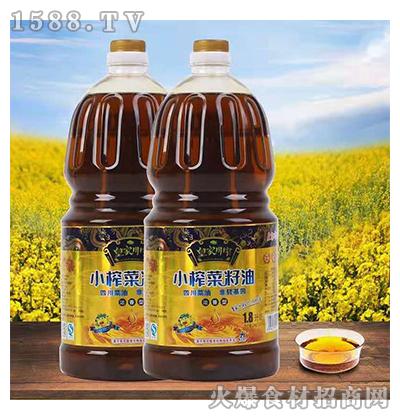 皇家川榨小榨菜籽油1.8L