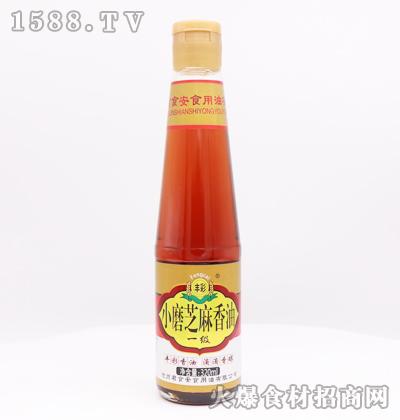 丰彩小磨芝麻香油320ml