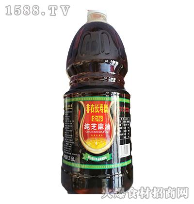 非衣长寿康金标纯芝麻油2.5L