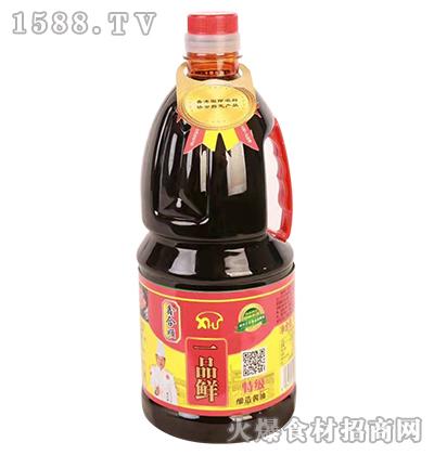 鑫合顺一品鲜特级酿造酱油1.8L