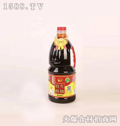 鑫合顺特鲜生抽酿造酱油1.8L