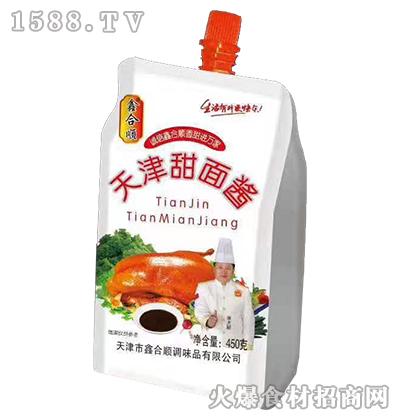 鑫合顺天津甜面酱450g