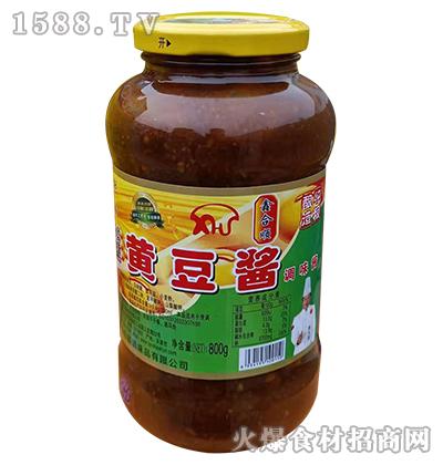 鑫合顺黄豆酱调味酱800g