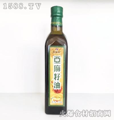陕御坊亚麻籽油500ml