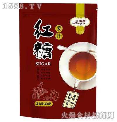 瑞捷姜汁红糖300g