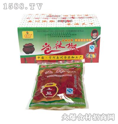岳川泡椒绿箱1.5kg