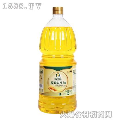 欧果原浆花生油2.5L