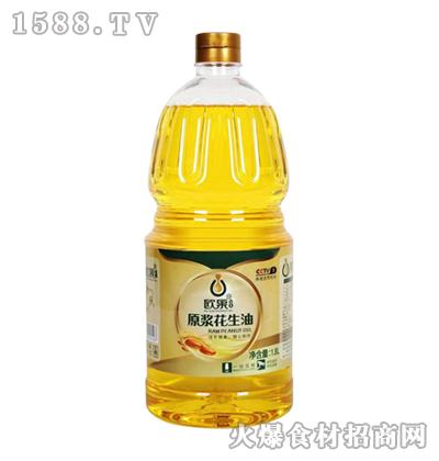欧果原浆花生油1.8L