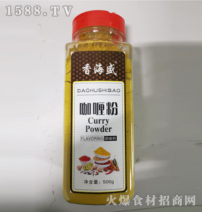 香海盛咖喱粉500g
