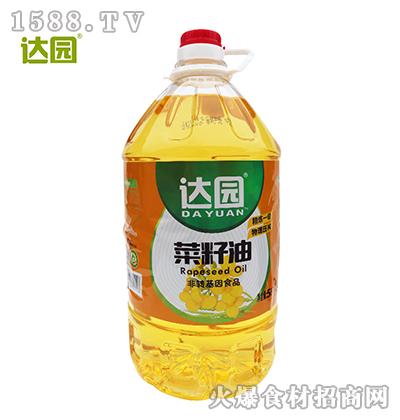 达园菜籽油5L
