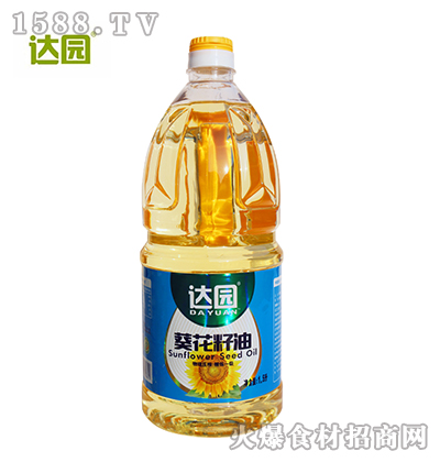 达园葵花籽油1.5L