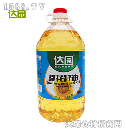 达园葵花籽油5L