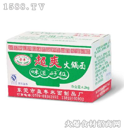 营丰超爽火锅面4kg