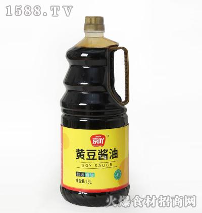 京吖黄豆酱油800ml