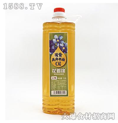 花着锦清香亚麻籽油1.8L