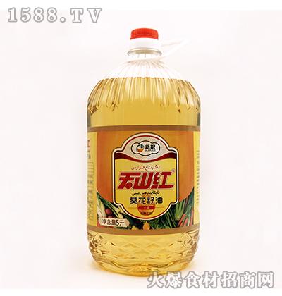 天山红葵花籽油5L