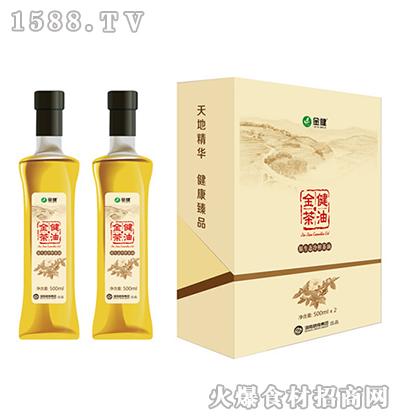 金健原生态冷榨茶油礼盒1000ml