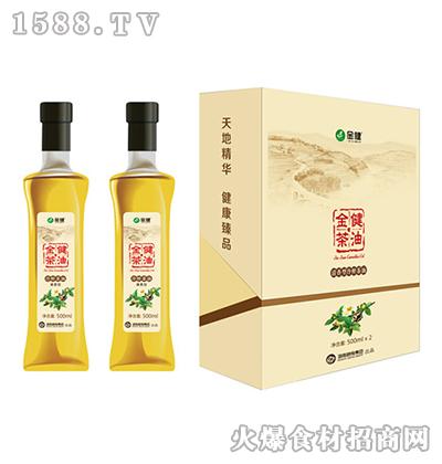金健清香型冷榨茶油礼盒1000ml