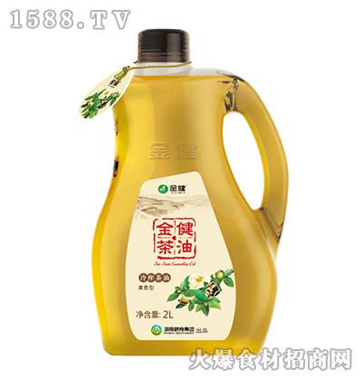 金健清香型冷榨茶油2L