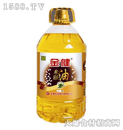 金健米胚油5L