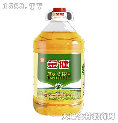 金健原味茶籽油5L