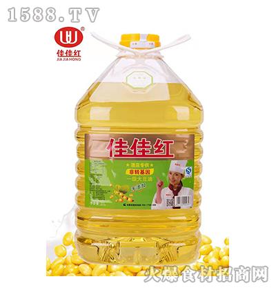佳佳红一级大豆油-5L