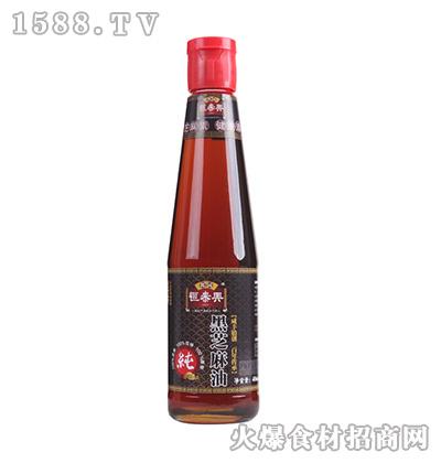 恒泰兴黑芝麻油406ml