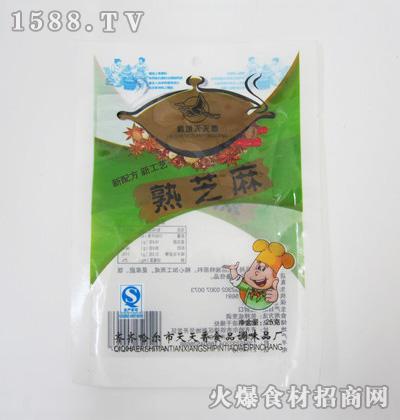 鹤城天天香熟芝麻25克