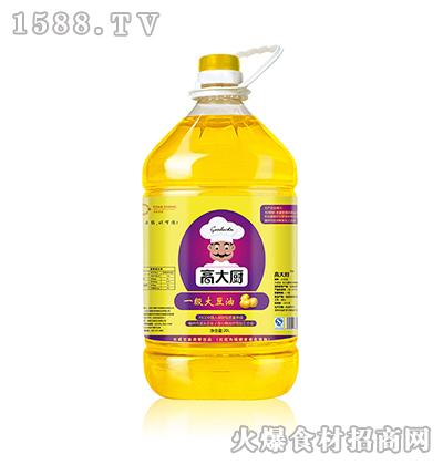 高大厨一级大豆油20L