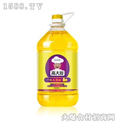 高大厨一级大豆油5L