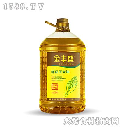 金丰盛鲜胚玉米油5L