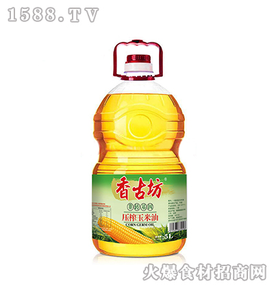 香古坊压榨玉米油5L