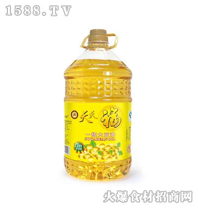 天天福一级大豆油5L